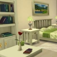 Mas Provencal Sims 4 Chambre de la suite parentale