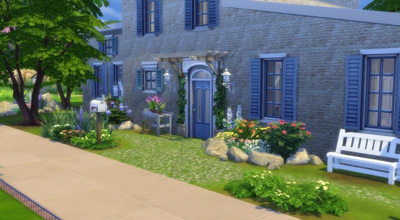 Nice ensemble salon salle a manger 10 mas provencal sims for Salle a manger sims 4