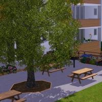 Résidence Simbella Espace pique-nique et aire de jeux pour enfants