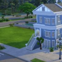 San Francisco House Maison vue de c�t�