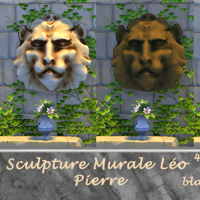 Sculpture murale Leo pierre