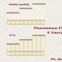 Panneaux Fleur de Lys catalogue