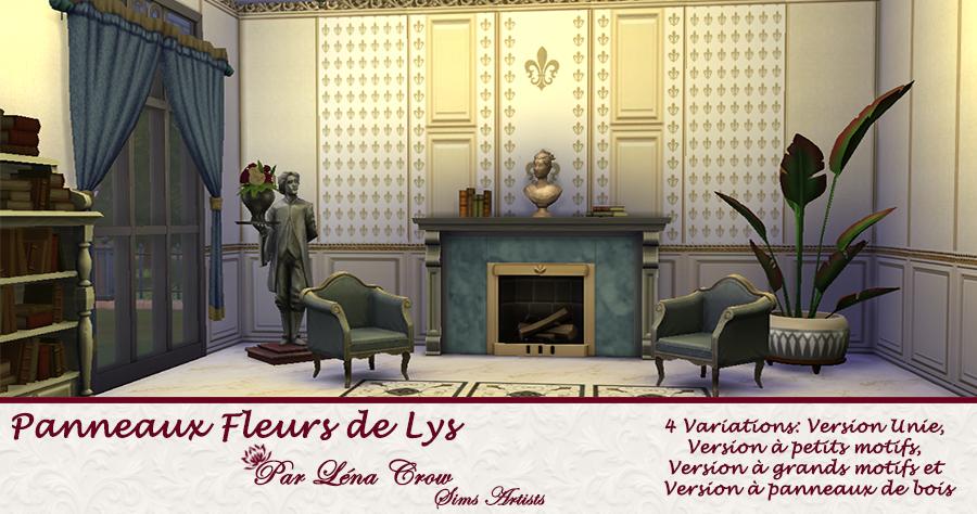 Panneaux Fleur de Lys page de présentation