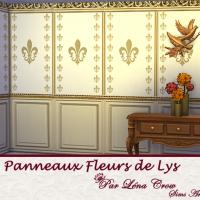 Panneaux Fleur de Lys variation grands motifs