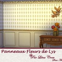 Panneaux Fleur de Lys variation petits motifs