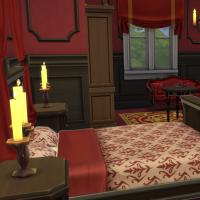 Manoir de la Simardière Chambre Rouge