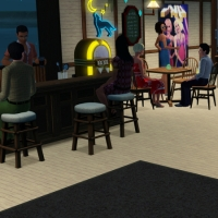 Le bar intérieur - le coin billard