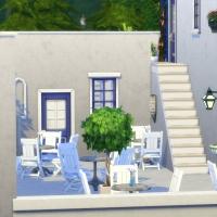 la elasa restaurant grec cour