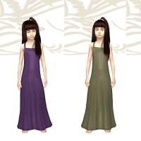 Des verts et violet