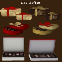Douceurs Sucrées Sims 4 Boites