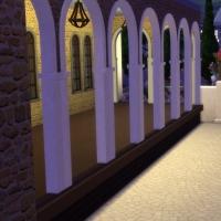 Eglise de la Trinité - entrée du cimetière