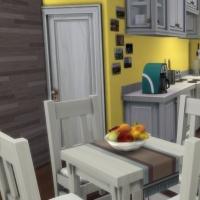 La Pitchoune - l'espace cuisine-salle à manger