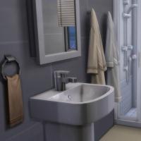 La Pitchoune - la salle d'eau