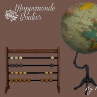 Mappemonde-Boulier