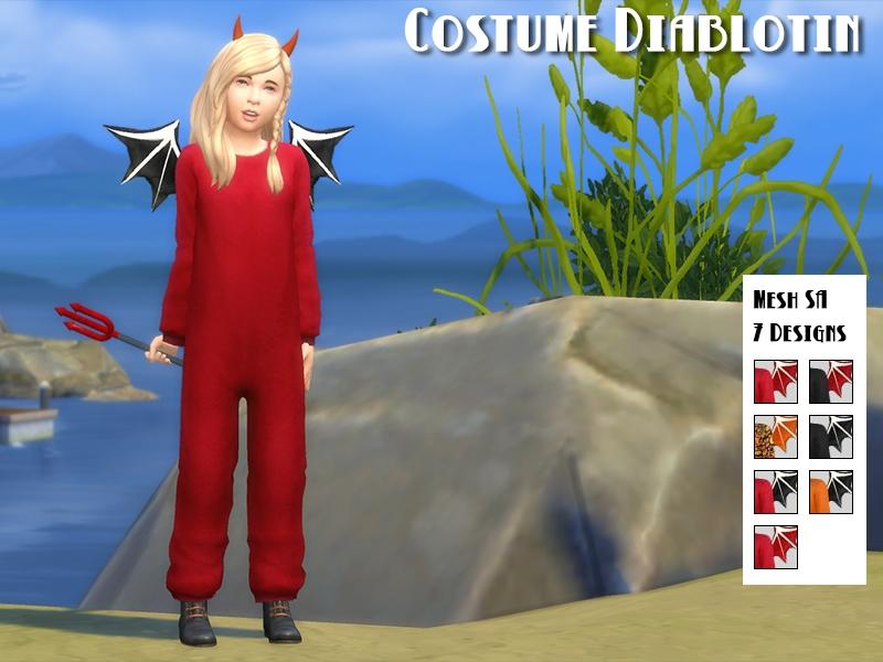 Costume diablotin