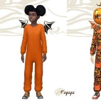 Décliné en orange et honneur aux citrouilles pour Halloween