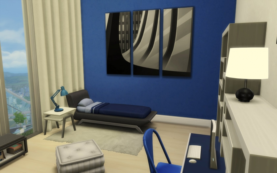 Sims 4 appartement relooking construction decoration build - Relooking chambre ado ...