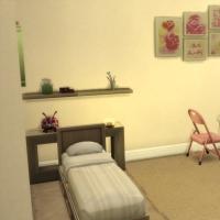 Relooking d'Appartement Chambre fillette 1