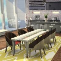 Relooking d'Appartement Cuisine et salle à manger
