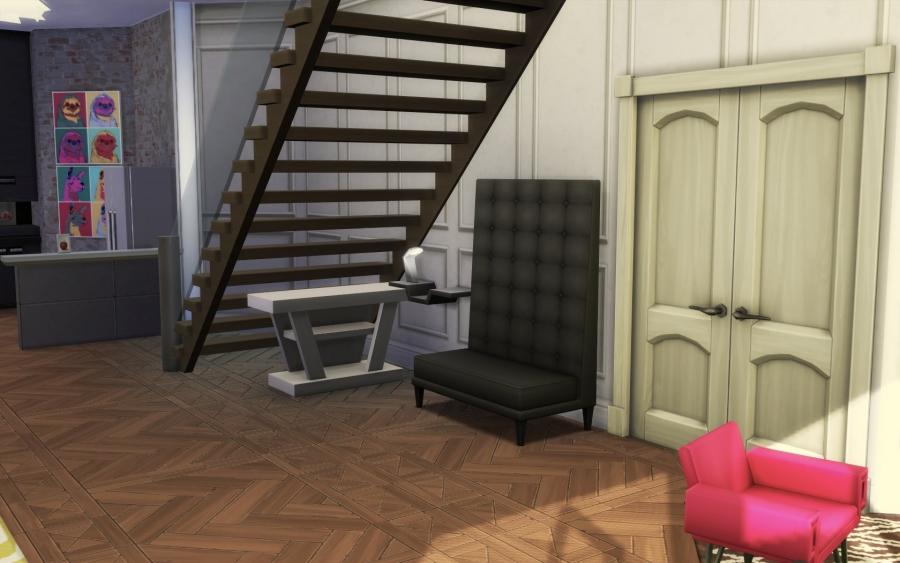 Relooking d'Appartement Entrée