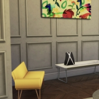 Relooking d'Appartement Hall fauteuil