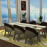 Relooking d'Appartement Salle à manger vue extérieure
