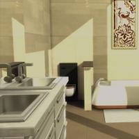 Relooking d'Appartement Salle de bain parentale 2