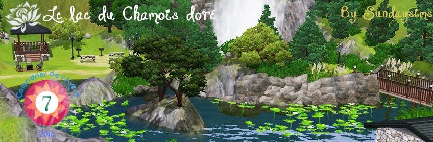 Le lac du Chamois doré