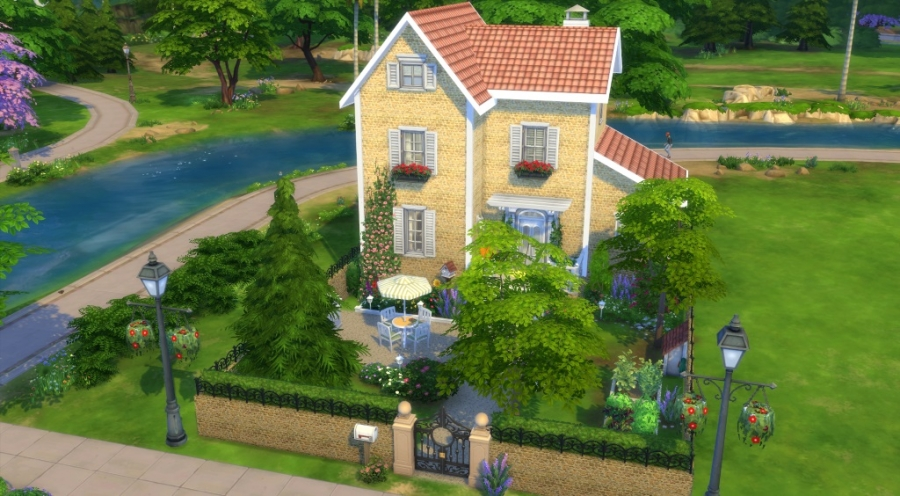 Sims 4 t l chargement maison sans cc download house no cc for Decoration maison sims 4