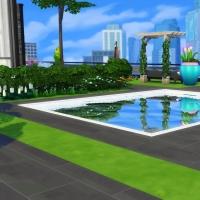 Penthouse l'Indus  jardin piscine