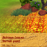 Autumn Leaves peintures de terrain automne S4 jaune et orange