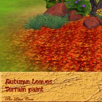 Autumn Leaves peintures de terrain automne S4 pourpre