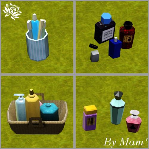 clutters salle de bain