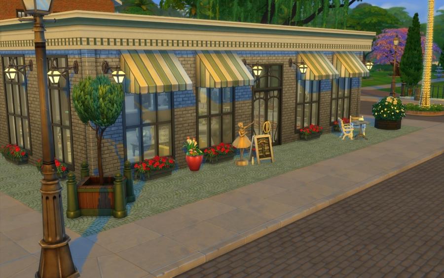 Sims  Au Travail Magasin Decoration
