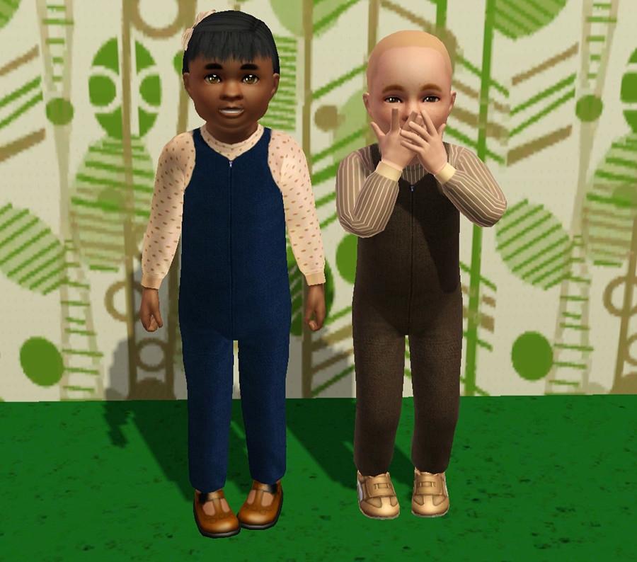 Styles prédéfinis Fille à gauche, garçon à droite