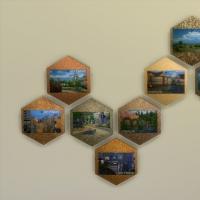 Carte postale : suite des paysages disponibles