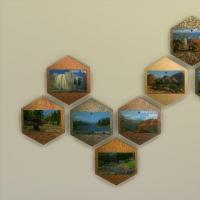 Carte postales : différents paysages
