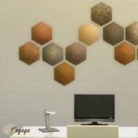 Hexagone angle en haut