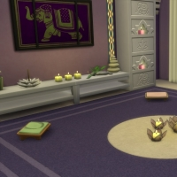 Spa du Lotus Blanc - la salle de m�ditation - vue 2