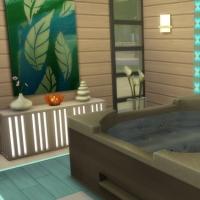 Spa du Lotus Blanc - le bain � remous
