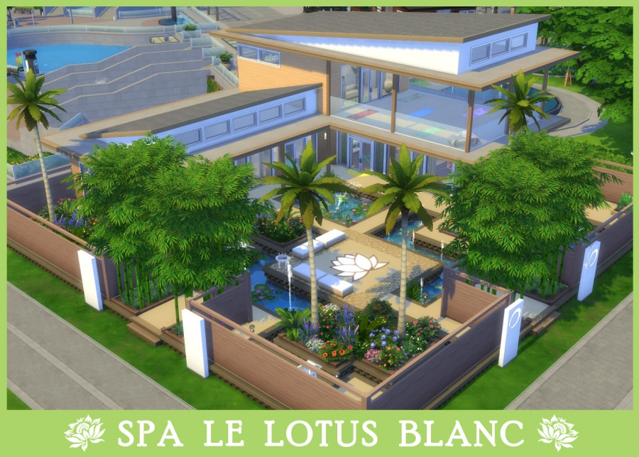 Spa du Lotus Blanc - vue d'ensemble