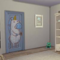 Chambre bleue avec CC pour bambin 5