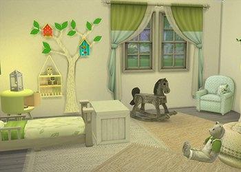 Chambres pour bambin avec du contenu personnalis�