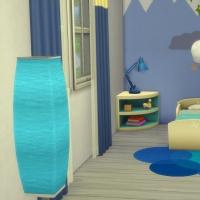 Chambre bleue pour bambin 2