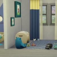 Chambre bleue pour bambin 3