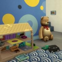 Chambre bleue pour bambin 4