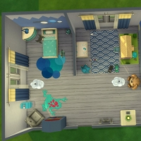Chambre bleue pour bambin 8