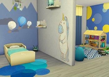 Chambres pour bambin sans contenu personnalis�
