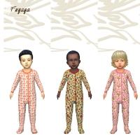 De la couleur et des pyjamas mixtes
