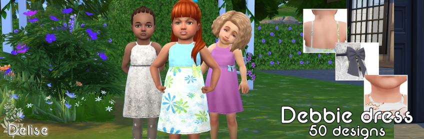 Robe Debbie pour bambine
